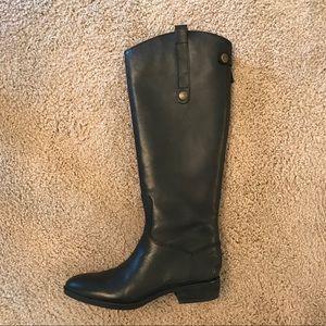 Sam Edelman Black Penny Boots